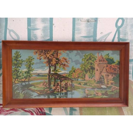 Κάδρο κέντημα  Granny's  32229 - Vintage