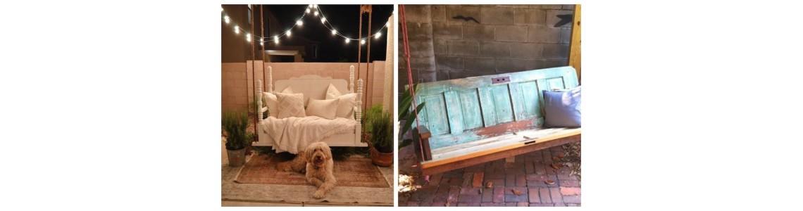 Vintage ιδέες διακόσμησης για το μπαλκόνι ή τον κήπο σας (Μέρος 1ο)