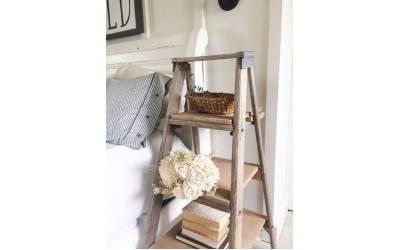 Ιδέες για να αξιοποιήσετε μία παλιά σκάλα - Vintage διακόσμηση