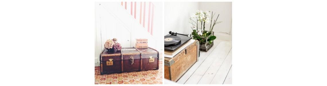 Ιδέες για να μεταμορφώσετε το χώρο σας χρησιμοποιώντας ένα μπαούλο από το Σπίτι της Γιαγιάς!