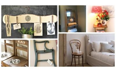 Πώς να χρησιμοποιήσετε τις vintage καρέκλες… αλλιώς!