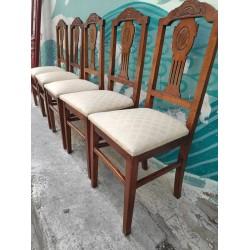 Καρέκλα τραπεζαρίας με σκαλίσματα Granny's  41084