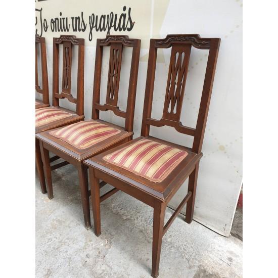 Καρέκλα ξύλινη vintage  Granny's  44782 - Vintage