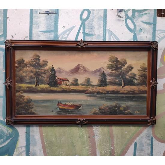 Κάδρο Ζωγραφική vintage Granny's  47517 - Vintage