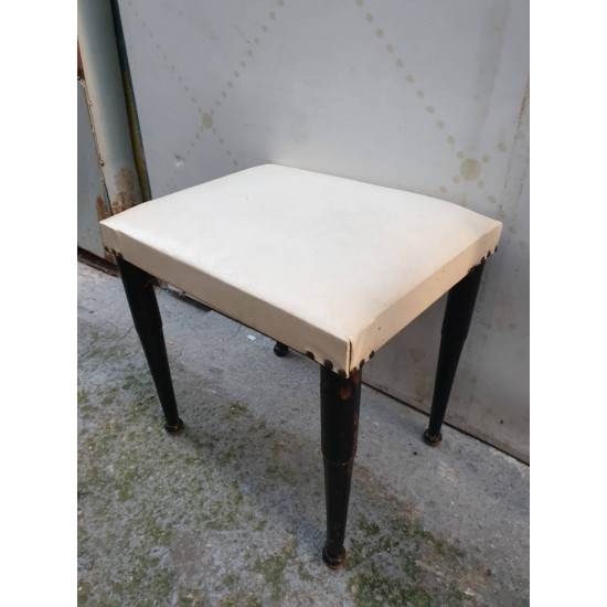 Σκαμπό  ξύλινο εποχής  Granny's 40529 - Vintage