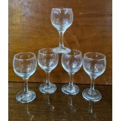 Σετ ποτήρια κρασιού Granny's 74057